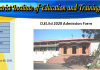 Goa D.El.Ed 2020 Admission Form Date, Online Application form, Counselling