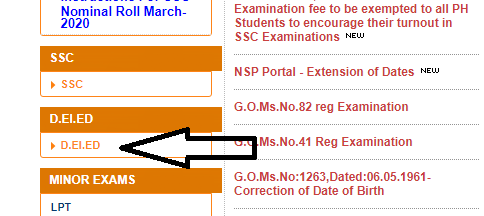 How to Check AP D.El.Ed Time Table 2020