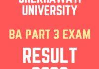 Shekhawati University BA 3rd Year Result 2020