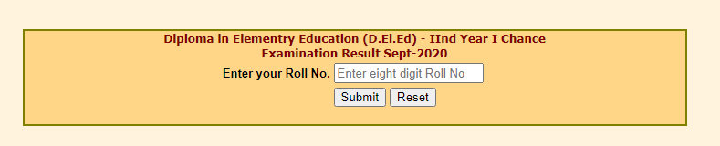 MPBSE D.El.Ed 2nd Year Result Date 2020