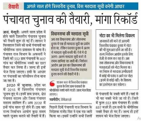 UP Gram Pradhan Election News Latest Updates